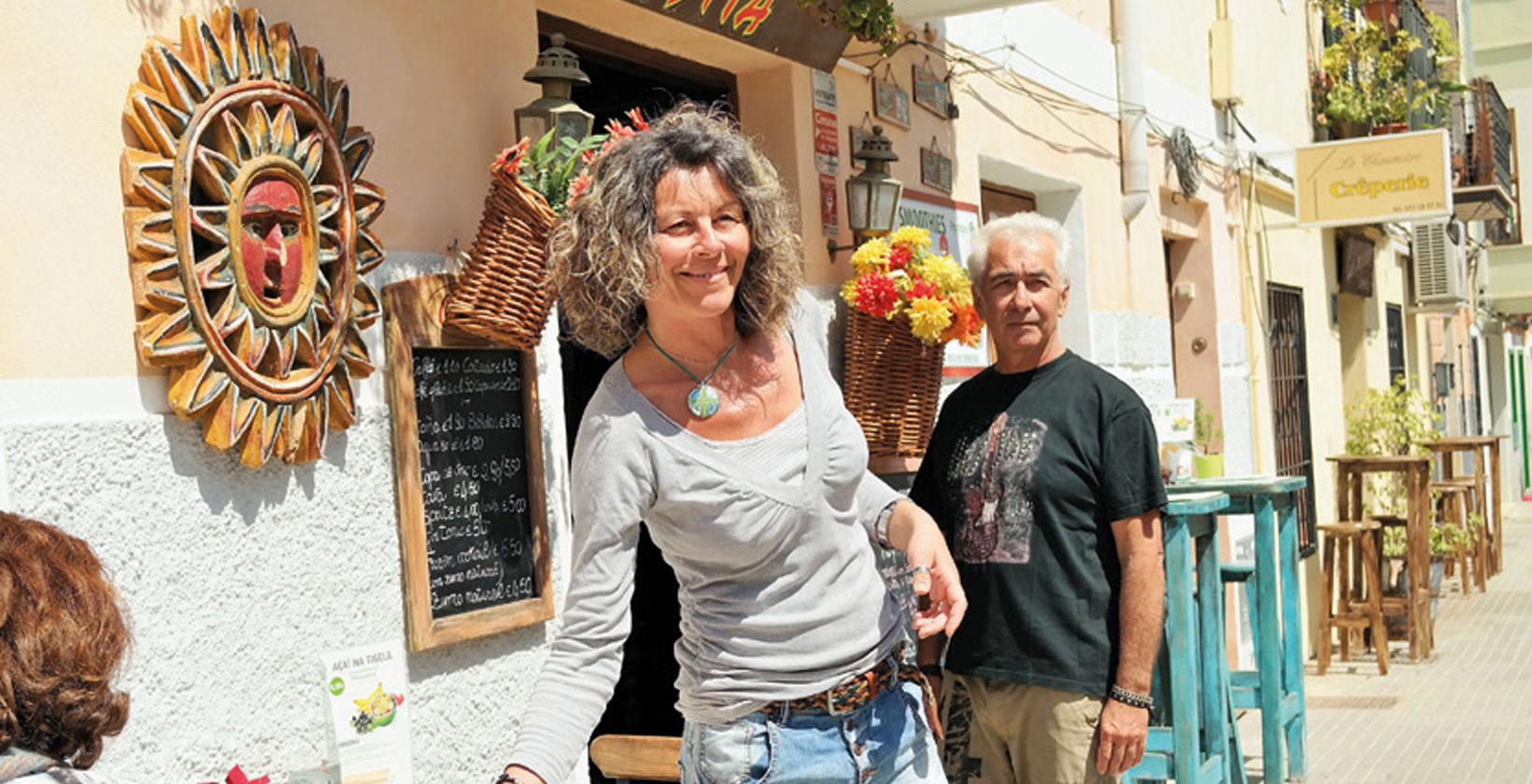 Palma-stadsdelen Santa Catalina har en speciell känsla. Här finns charmiga caféer och färgstarka gator.